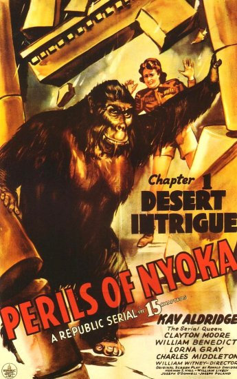 THE PERILS OF NYOKA (JUNGLE GIRL 2), 1942