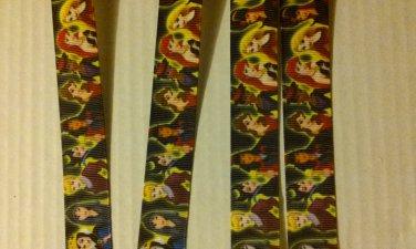 5 yrds princess villian themed character ribbon