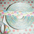pastel bubbles themed ribbon 5 yards ~FREE SHIPPING~