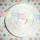 pastel swirls 5 yrds ribbon~FREE SHIPPING~
