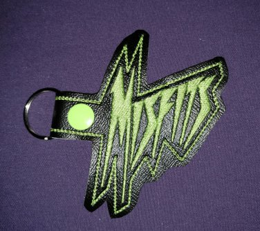Misfits of Jem and the Holograms keychain fob