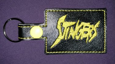 Stingers of Jem and the Holograms keychain.