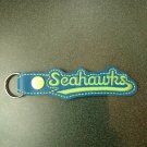 Seahawks key fob style #2 lettering