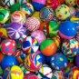 400 Giant Jumbo 45 mm Super Bouncing Bounce Tomy Yujin Gacha Vending Bouncy Balls Superballs New