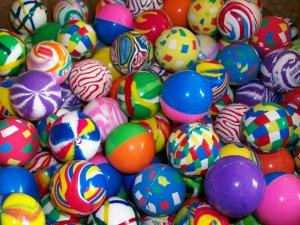 25 superballs Fancy Quality Vending Super bounsing Bounce Bouncy Balls