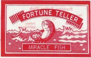 "720 Fortune Teller Fish Party Favor 2"" empty capsule filler New Hot Vending"