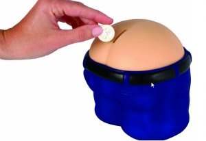 Fanny Bank Funny Farting Coin Drop Bank Fart Machine