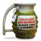 Grenade Coffee Mug Tea Kitchen Office Ceramic Shaped Complaint Department War