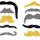 100 Party Mustache Fake Mustaches