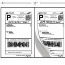 1000 Shipping Labels PayPal Click-n-ship FedEx Self Adhesive Laser Inkjet Printer