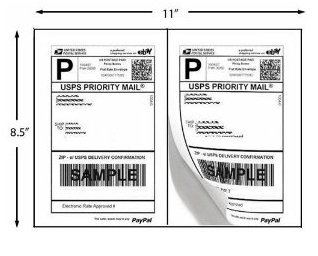 1000 Shipping Labels PayPal Click-n-ship FedEx Self Adhesive Laser Inkjet Printer