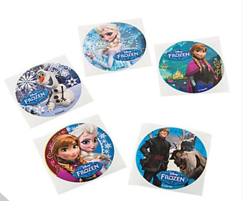 30 Frozen Olaf Anna Elsa Disney Movie Stickers Birthday Party Favors Gift