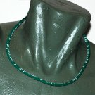 Phiten Titanium Necklace Green 18""""