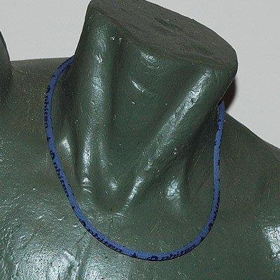 """Phiten Titanium Necklace Gray/Navy 22"""""""