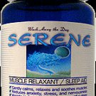 SERENE --Muscle Relaxant Sleep Aid Supplement (30 Capsules)