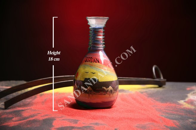 Sand Art Bottles -Medium  1