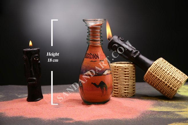 Sand Art Bottles -Medium 4