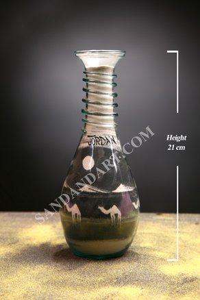 Sand Art Bottles -Large  1