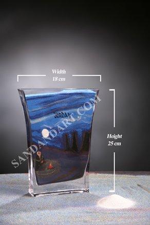 Sand Art Bottles -Large  5