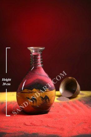 Sand Art Bottles -Medium Wide  1