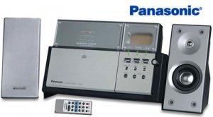 Panasonic Front Loading Cd Player With Am Fm Tuner