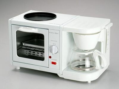 Ematic 3 in 1 Kitchen Breakfast Maker  EM206