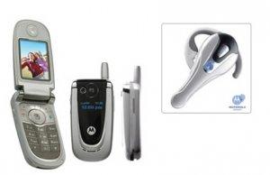 Motorola V600 Bluetooth Combo Triband GSM Cellular Mobile Phone Unlocked