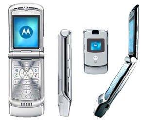 Motorola RAZR V3 Quad-Band Slim Cellular Mobile Phone (Unlocked)