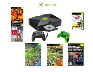 Xbox Starter Kit Bundle - 6 Games and 2 Controllers