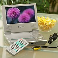 CyberHome Portable DVD and CD Player with 7 Inch LCD Screen
