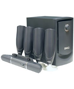 Dell 5650 100 watt 6 Piece 5.1 Speaker Set - NEW