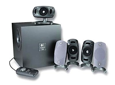 Logitech Z5300 THX 5.1 Channel Speakers