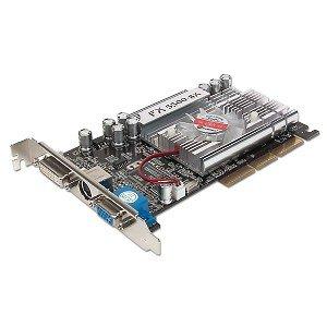 GeForce FX 5500-SX 256 MB DDR AGP Video Card