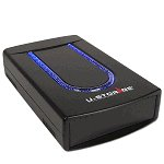 5.25 Inch USB 2.0 FireWire External Case with LED (Black)