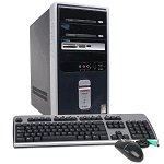 Compaq Celeron D Computer 2.93GHz 512MB 80GB DVDRW with XP Home