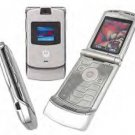 Silver unlocked v3 Razr cell phone