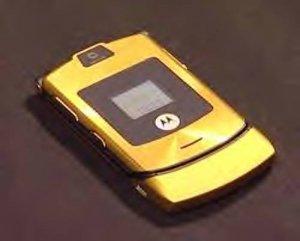 Gold D&G v3 unlocked motorola cell phone