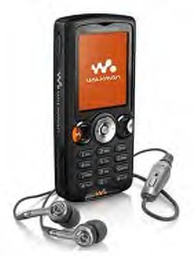 SONY-ERISON W810 black unlocked walkman cell phone