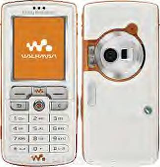 w700i white Sony-Ericsson walkman mp3 Cell Phone Unlocked