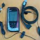 NOKIA 7610 black/red Mp3 Camera Blue-Tooth Unlocked cell phone