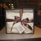 100% Organic Chartmuse Silk Baby Blanket Cream (Silk fill)