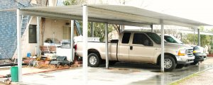 4 car carport kit, EZ one day to put it up. 36' x  20' HEAVY STEEL