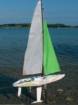 Triumph 800 RC Sailboat RTS Kit