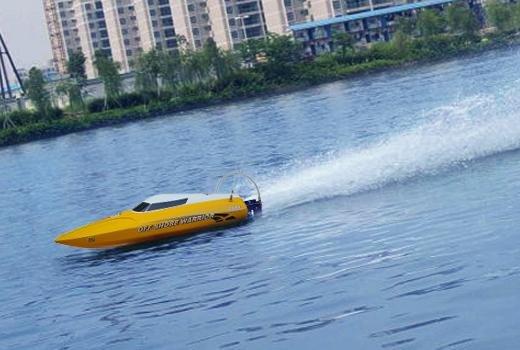 Brushless motor mini Deep Vee Boat