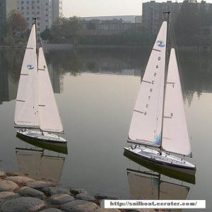 Surmount 800 RC Sailboat RTS Kit