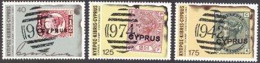 Cyprus #529-531, MNH