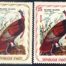 Haiti - Wild Turkey, MNH - set