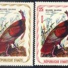 Haiti - Wild Turkey, MNH - set