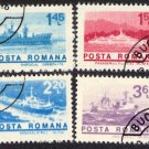 Romania #2460-67 (8 stamps), CTO - Ships