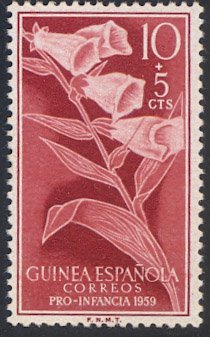 Spanish Guinea #B53, MNH - Digitalis